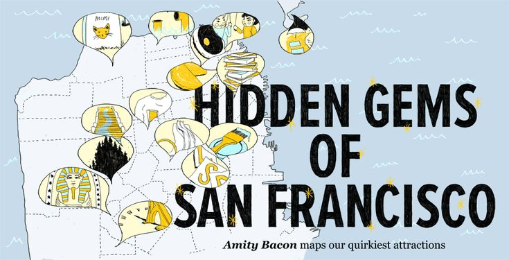 A city as large as San Francisco has a few secrets. The Bold Italic lists their set of hidden gems.