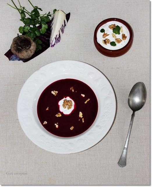 Gizi-receptjei.  Várok mindenkit.: Korianderes vörös káposzta leves céklával.