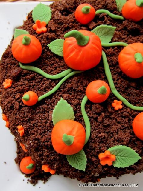 Pumpkin lemon cake recipe