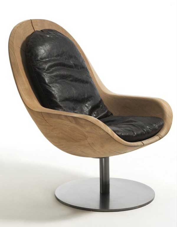 For those of you who love the unpretentious design lines obtained from natural wood, the Creus Armchair by Italian company Riva will be an object of desire. Spotted on Trendir…, this interesting chair is a wooden piece of furniture designed to offer comfort and display its natural shape among other modern furniture items. The simple and elegant design was