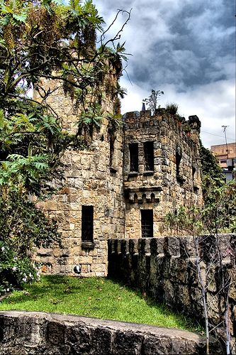 Castle different view, Bogota, Colombia