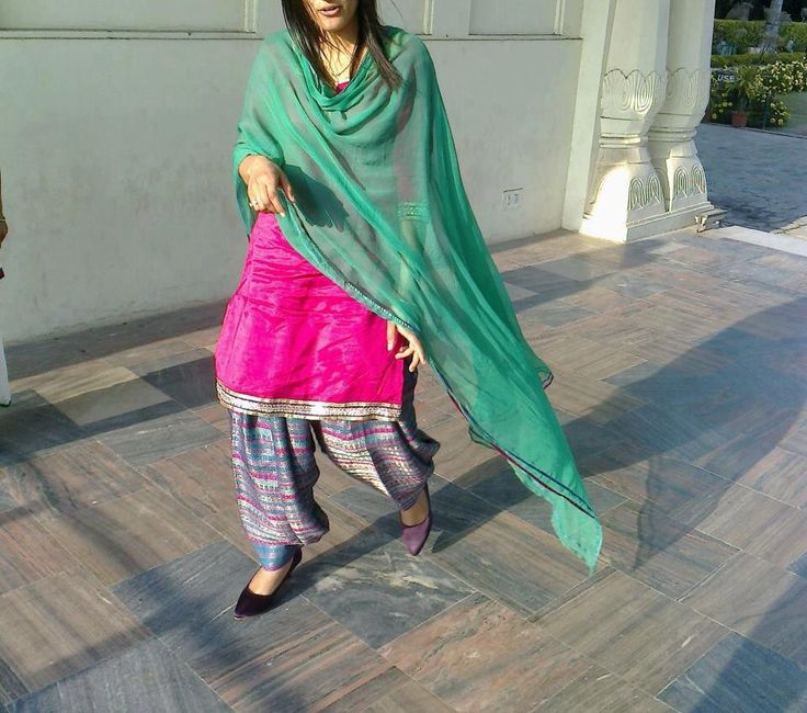 Pretty punjabi suit