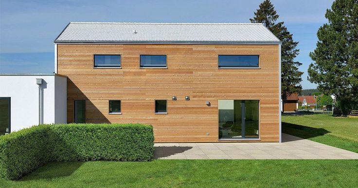 Individuelles Designhaus PlanMit Entwurf Hoch hinaus - Außenansicht