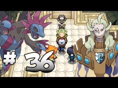 Let's Play Pokemon: Black - Part 36 - Team Plasma Ghetsis