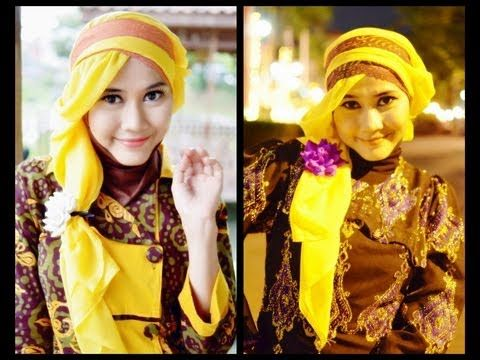 Tutorial Hijab Modern Paris | Princess Rapunzel-Like by Didowardah - Part #26 - YouTube