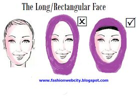 Design Blog with Art,Interior Design, Modern Furniture: Hijab Styles For Your Face Shape