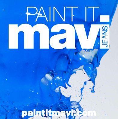 "#Mavi means ""#blue"" in Turkish #advertising"