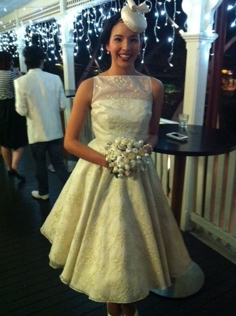 Vintage & Handmade Bride Showcase - Millinery by Leila Koster Millinery