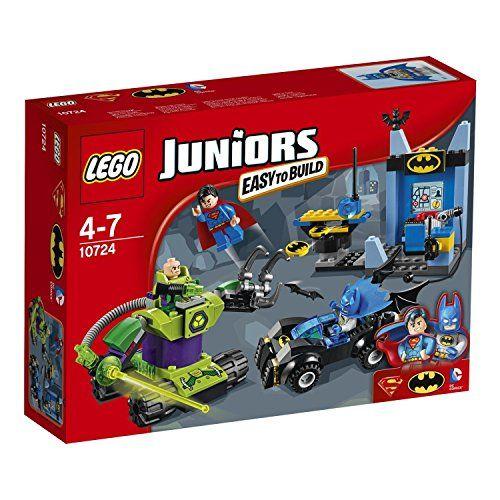 LEGO – 10724 – Juniors – Batman et Superman Contre lex Luthor: Aide BatmanTM et SupermanTM à affronter Lex LuthorTM dans son…