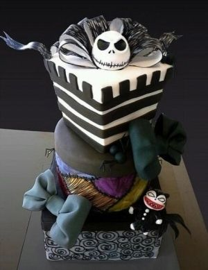 Another Nightmare Before Christmas Cake