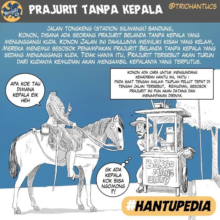 prajurit belanda tanpa kepala Bandung