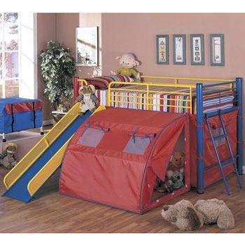 Awsome!: Twin, Kids Beds, Kids Bedrooms, Idea, Bunk Beds, Tent, Home Kitchens, Loft Beds, Kids Rooms