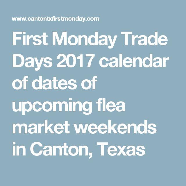Canton first monday dates in Brisbane