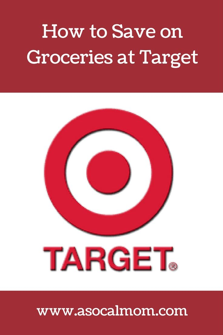 How to save money on groceries at Target. Grocery shopping savings and money saving tips.
