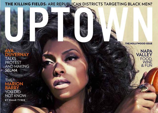 Taraji P. Henson Talks Cookie in Uptown Magazine