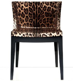 Philippe Starcku0027s Mademoiselle Chair Interpreted By Dolce U0026 Gabbana Is From  Kartell