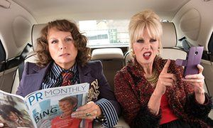'Lumley has an imperishable hauteur and comedy-charisma. She is the garden bridge that stops this film from collapsing into the Thames'  Absolutely…