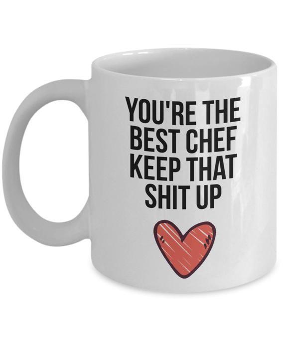 Gifts For Chef Christmas 2020 Chef Mug Chef Gift Gift for Chef Chef Christmas Gift Chef | Etsy