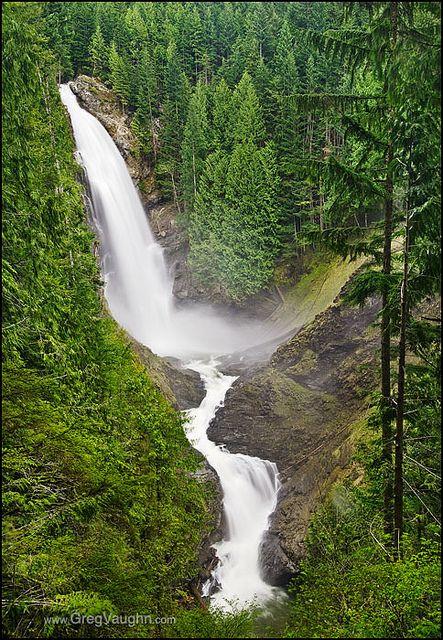 Wallace Falls State Park, Cascade Mountains, Washington