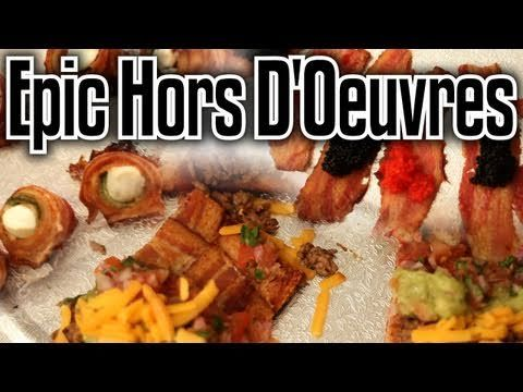 If you are entertaining....make sure to include these EPIC HORS D'OEUVRES