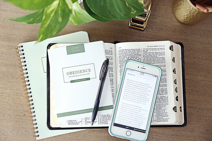 October's Scripture Study Guide – Obedience