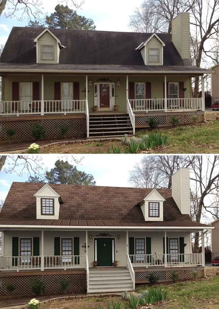 Great Before And After Home Exteriors