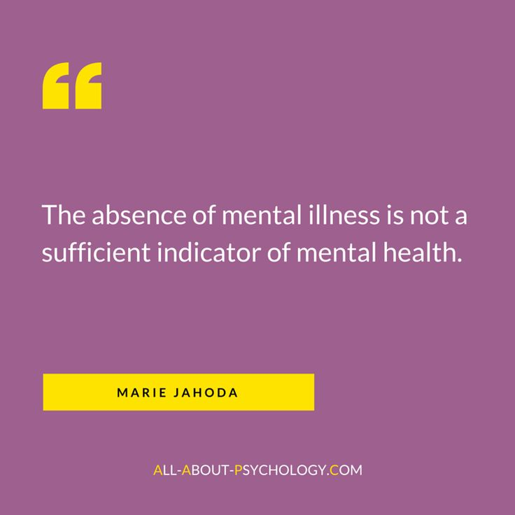 Classic quote by positive mental health pioneer Marie Jahoda. Born on this day in 1907. Visit --> http://www.all-about-psychology.com/positive-psychology.html for free positive psychology information and resources. psychology