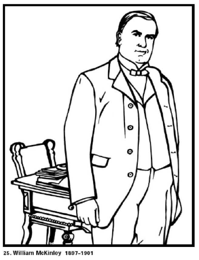 printable president coloring pages - photo#26