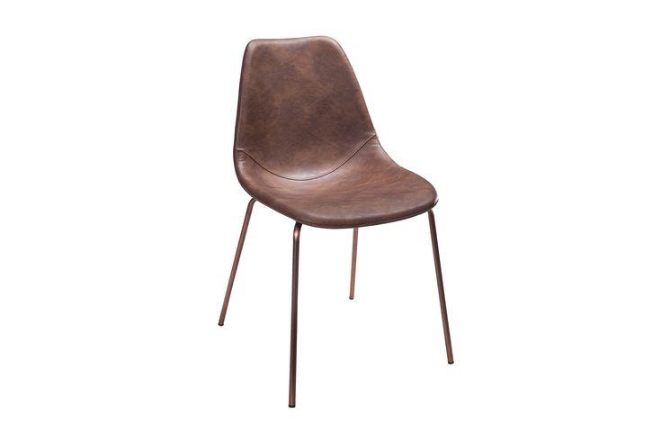 ARTEMIS Stol 1 Vintagebrun/Koppar - Matstolar
