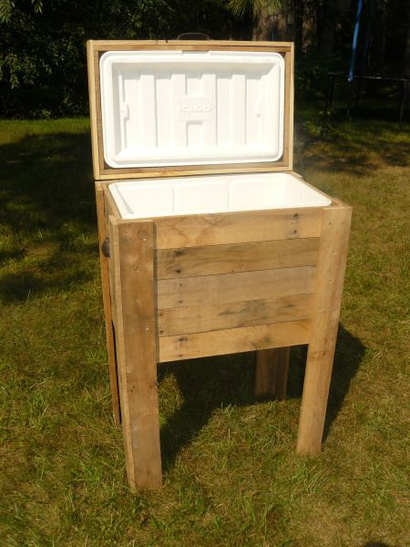 Reclaimed Wood Country Deck Cooler