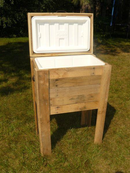 Wood Patio Cooler Plans: 17 Best Ideas About Deck Cooler On Pinterest