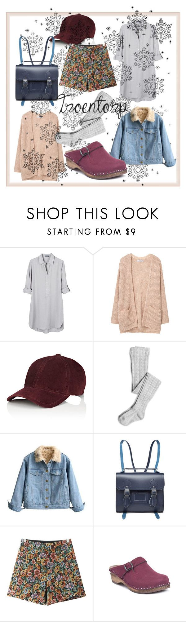"""""""Holiday spirit"""" by troentorp ❤ liked on Polyvore featuring United by Blue, MANGO, rag & bone, The Cambridge Satchel Company, Chicnova Fashion and Troentorp"""