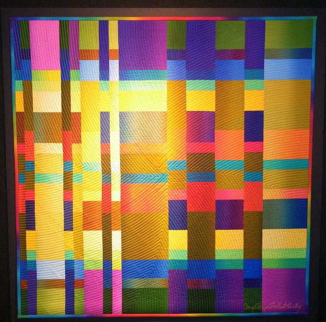 284 Best Art Quilts Vertical Strips Images On