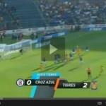 Video del resumen y goles entre Cruz Azul vs Tigres partido de la Jornada 8 Liga MX Clausura 2013.    Marcador Final: Cruz Azul 1-2 Tigres