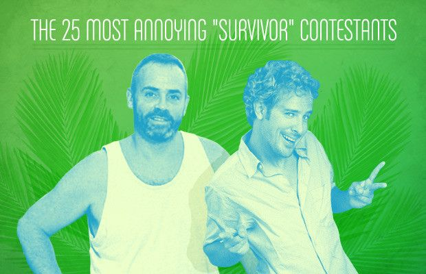 """Ozzy - The 25 Most Annoying """"Survivor"""" Contestants 