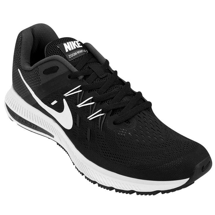 Las Zapatillas Nike Zoom Winflo 2 Negro e Blanco, serán tus aliadas en cada  carrera
