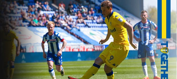 WIGAN ATHLETIC: UNITED END SEASON WITH A 1-1 DRAW. SBC.46 Sun. 07.05.17. at DW Stadium    After the break Leeds won a penalty when O'Kane was felled in the penalty area.  Wood stepped up to take it and slotted it home, netting his 30th goal of the season and the 100th in his career to level the scores.