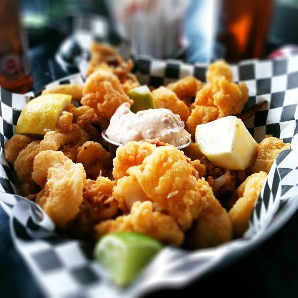 Fried Calamari at School Bakery and Cafe in Toronto