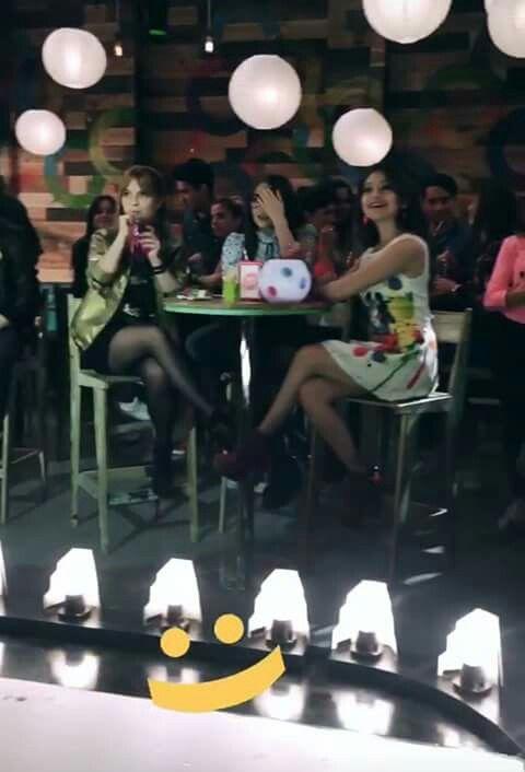 Soy Luna grabando para la 2da temporada en un Open Music !!
