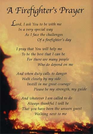 fireman's+prayer+photo+frame | firefighter s prayer a firefighter s prayer anon when i am called to ...