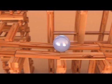KEVA Planks - Bullet Physics (HD)
