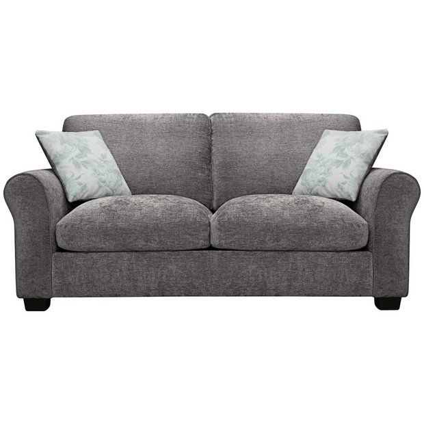 Buy Argos Home Tammy 2 Seater Fabric Sofa Bed Charcoal Sofa Beds Argos Fabric Sofa Bed Fabric Sofa Charcoal Sofa