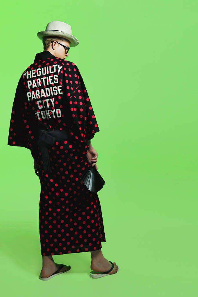 Casual Samurai Fashion : Men's Kimonos