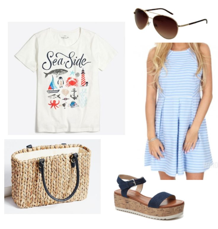 Summer Outfit Ideas: Beach, July 4th, Baseball Game, Picnic - College Fashion