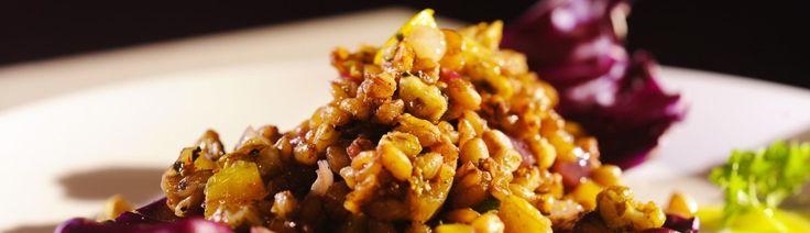 Pšenica starej mamy s cibuľou, figou a orechmi - Tajomstvo mojej kuchyne