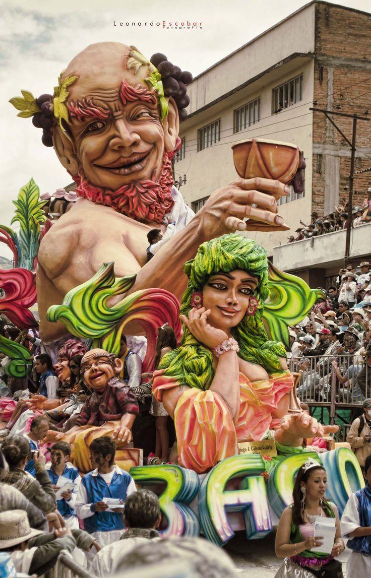 BACO, Carnaval de Blancos y Negros Pasto Nariño 2012
