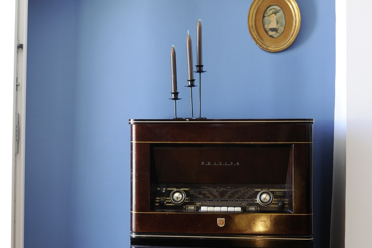 Luis from Lisbon opted for a more vintage touch in his Blue Terrace decorations. Here is his vintage radio number one