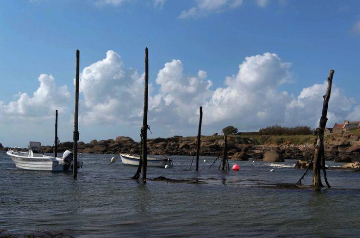 le port de Mazou marée montante, Porspoder, Lanildut