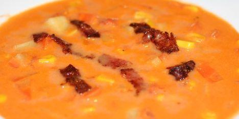 Fantastisk mexicansk suppe med majs