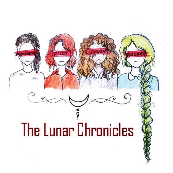 Lunar Chronicle Girls and their identities over their eyes.